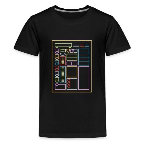Dnd Character Sheet - Kids' Premium T-Shirt