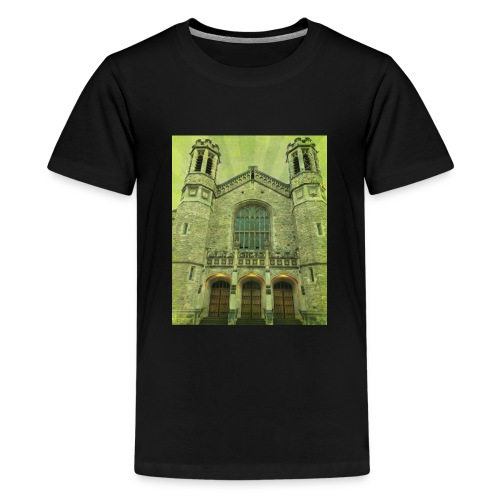 Green gothic cathedral - Kids' Premium T-Shirt