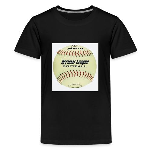 Softball - Kids' Premium T-Shirt