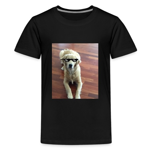 Like a boss (Golden Retriver) - Kids' Premium T-Shirt