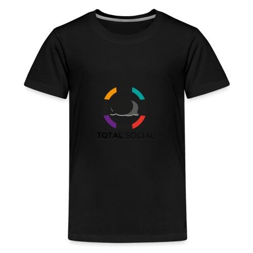 Logo_Total_Social_PNG_03 - Kids' Premium T-Shirt