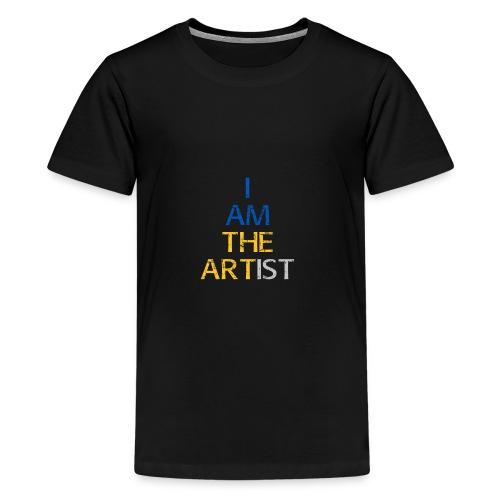 I Am The Artist -Text Only - Kids' Premium T-Shirt