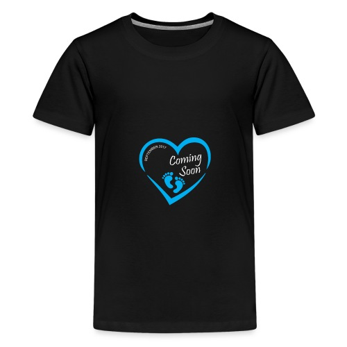Baby coming soon - Kids' Premium T-Shirt