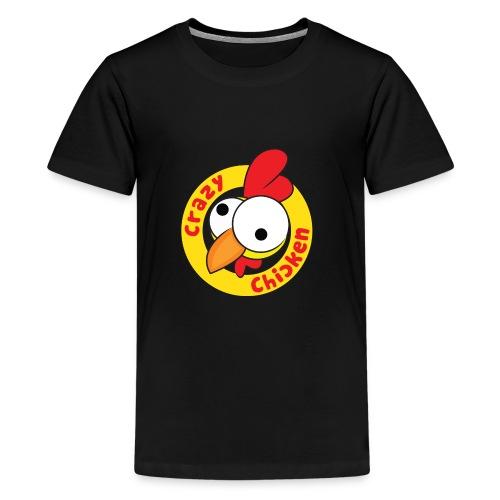 CrazyChicken Hoodie - Kids' Premium T-Shirt