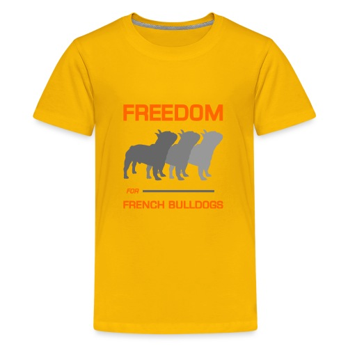 French Bulldogs - Kids' Premium T-Shirt