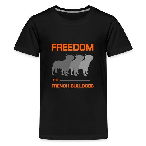 French Bulldogs - Kids' Premium T-Shirt
