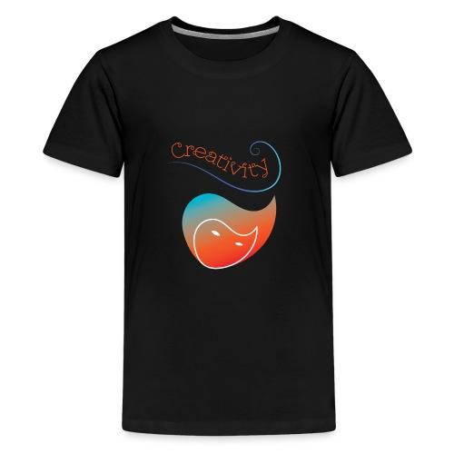 Curved Creativity - Kids' Premium T-Shirt