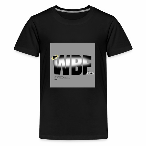 walking by faith and scripture - Kids' Premium T-Shirt