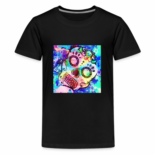 Tattooed Sugar Skull - Kids' Premium T-Shirt