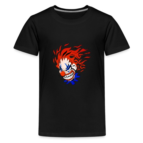 Psycho Crazy Clown Cartoon - Kids' Premium T-Shirt