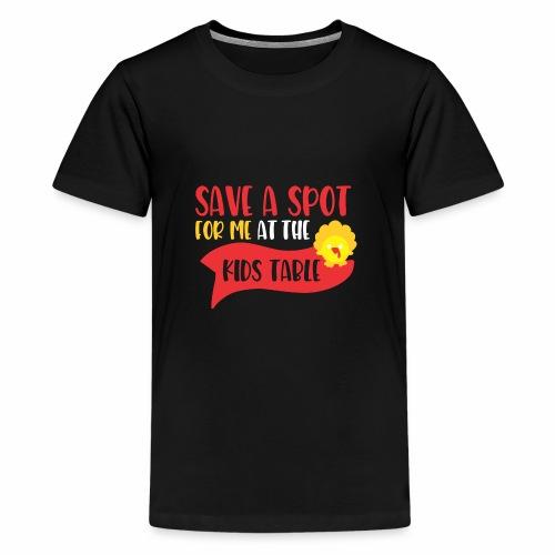 Save A Spot For MeZAA - Kids' Premium T-Shirt