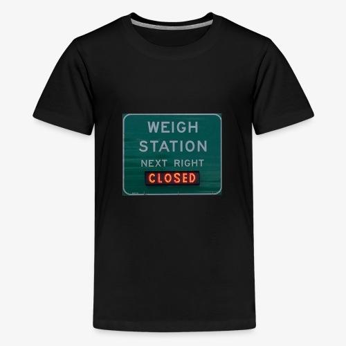 Weigh Station - Kids' Premium T-Shirt