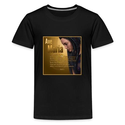 Ave María - La oración en español - Kids' Premium T-Shirt