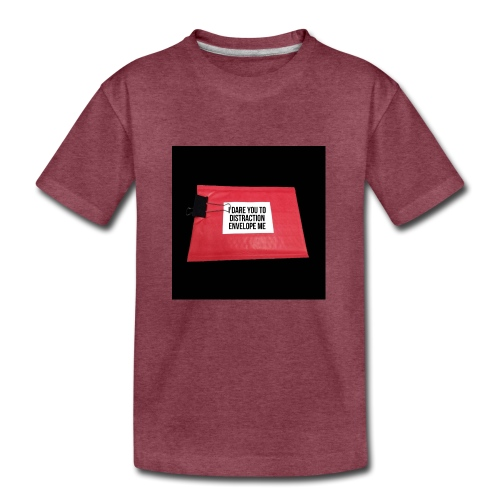 Distraction Envelope - Kids' Premium T-Shirt