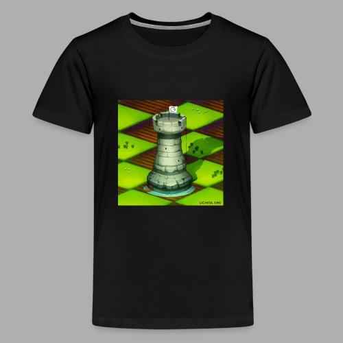 Lichess Castle - Kids' Premium T-Shirt