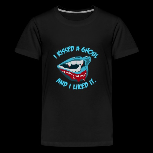 I Kissed a Ghoul - Kids' Premium T-Shirt