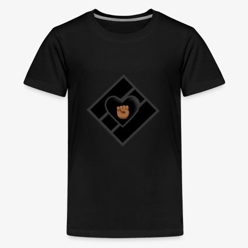 JDC w/ Blk Luv & Fist - Kids' Premium T-Shirt