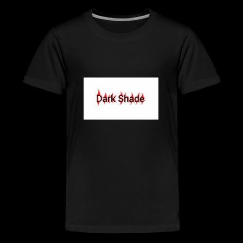Dark Shade White - Kids' Premium T-Shirt