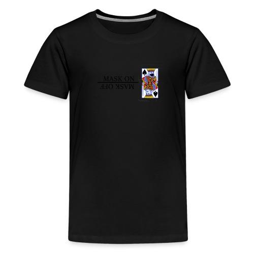 Royals; Mask On - Kids' Premium T-Shirt