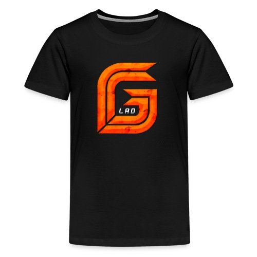 Classic Large GG Lad Logo - Kids' Premium T-Shirt