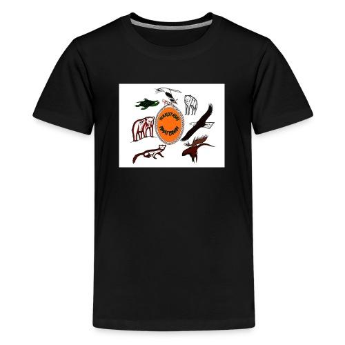 Wakotaski Logo jpg - Kids' Premium T-Shirt