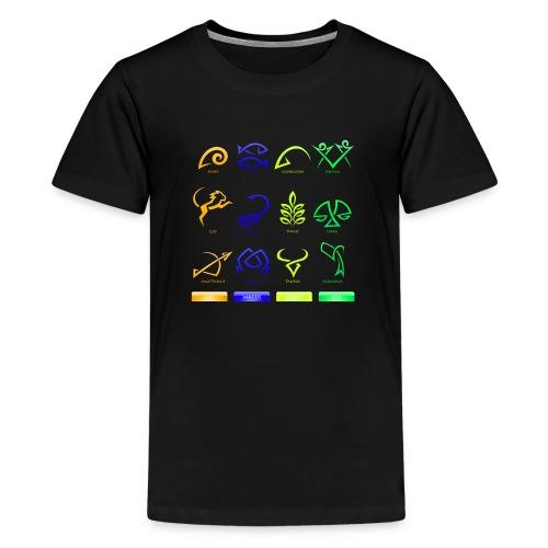 Horoscope - Kids' Premium T-Shirt