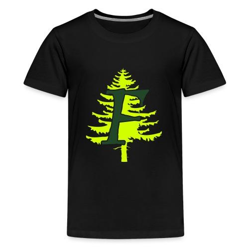 Ffynnon simple logo - Kids' Premium T-Shirt