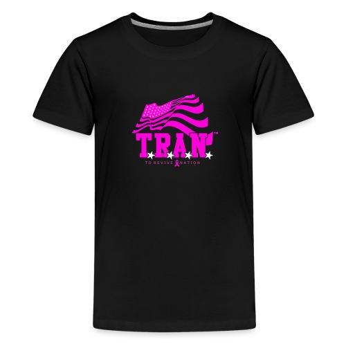 TRAN Ribbon Logo 4 - Kids' Premium T-Shirt