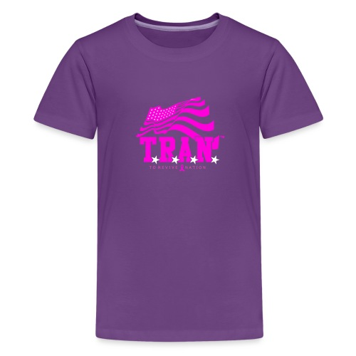 TRAN Ribbon Logo 4 - Kids' Premium T-Shirt