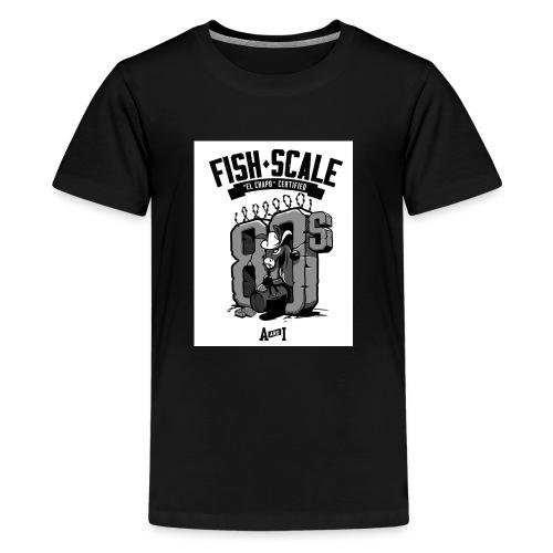 fish scale design - Kids' Premium T-Shirt
