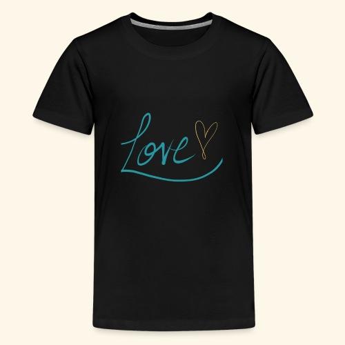 L.O.V.E. - Kids' Premium T-Shirt