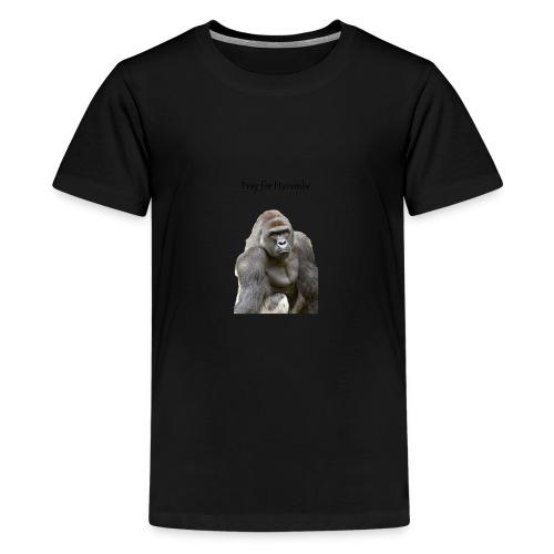 Pray for Harambe - Kids' Premium T-Shirt
