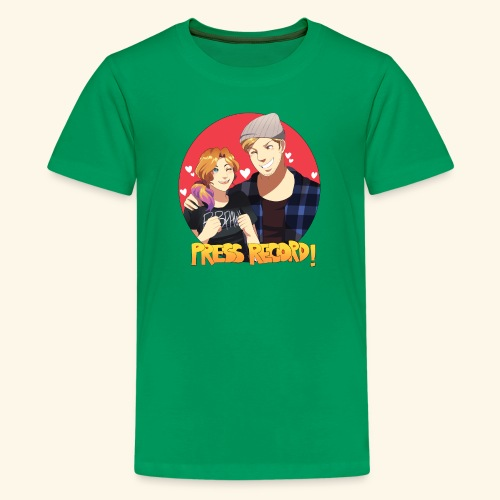 Press Record in Love - Kids' Premium T-Shirt