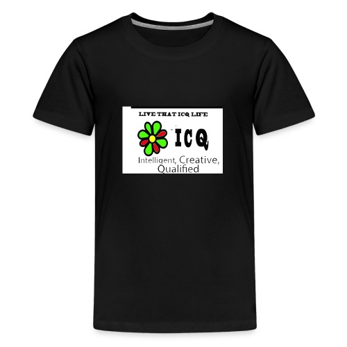 bunk new ICQ edited 33 - Kids' Premium T-Shirt