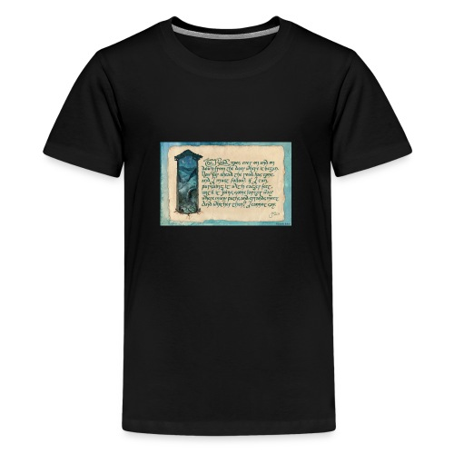 A Parkie's Tale-The Road Goes Ever On - Kids' Premium T-Shirt