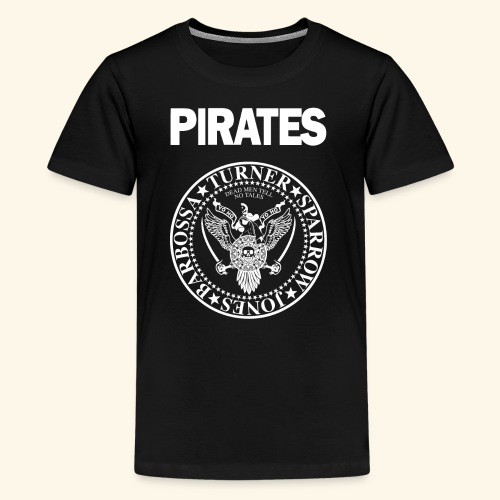 Punk Rock Pirates [heroes] - Kids' Premium T-Shirt