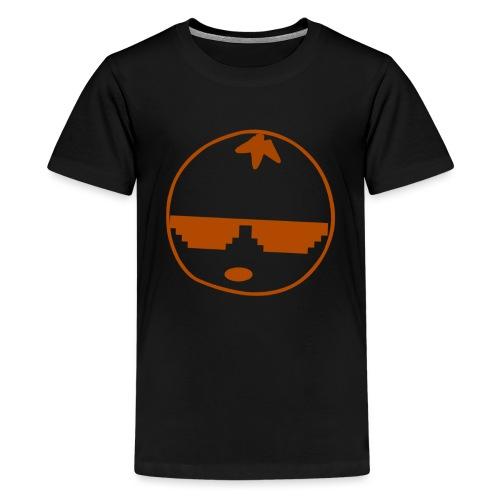 DaSourOrange Minimalist Logo Design - Kids' Premium T-Shirt