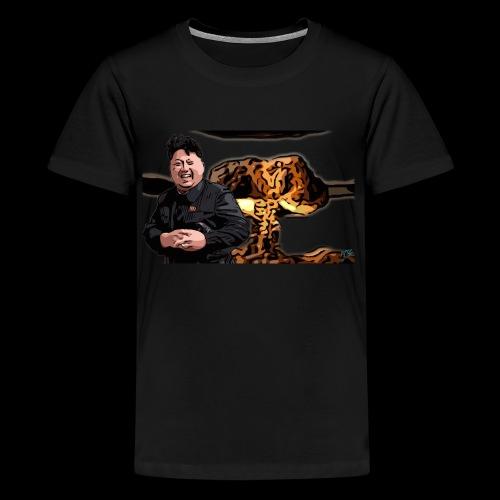 Crazy Kim exploded - Kids' Premium T-Shirt