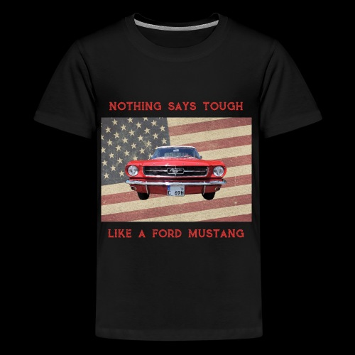 Mustang Tough - Kids' Premium T-Shirt