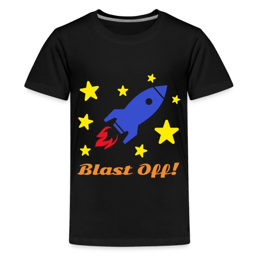 Blast Off - Kids' Premium T-Shirt