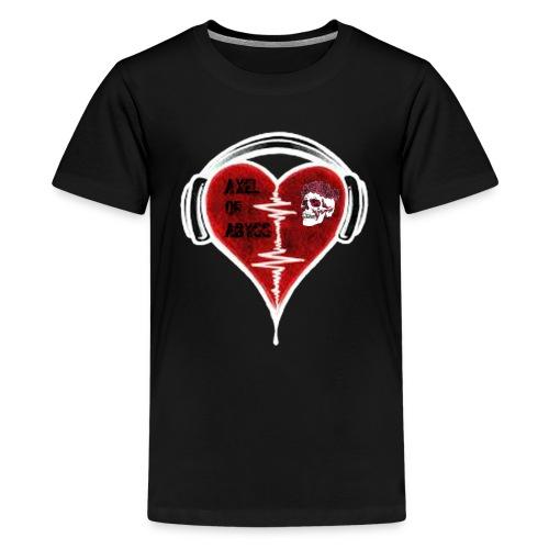 Axelofabyss Music in your heart - Kids' Premium T-Shirt
