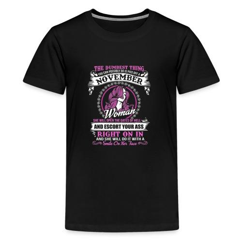 A November Woman Tee - Kids' Premium T-Shirt
