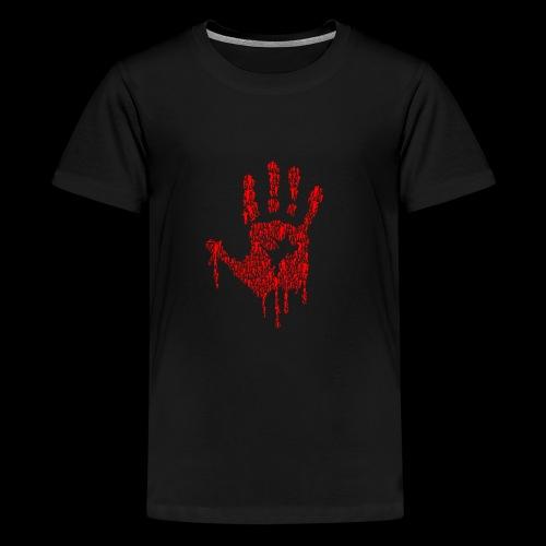 The Haunted Hand Of Zombies - Kids' Premium T-Shirt
