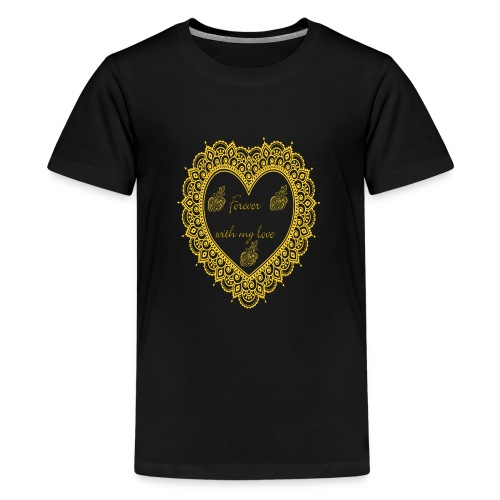 Forever with love T-Shirt - Kids' Premium T-Shirt
