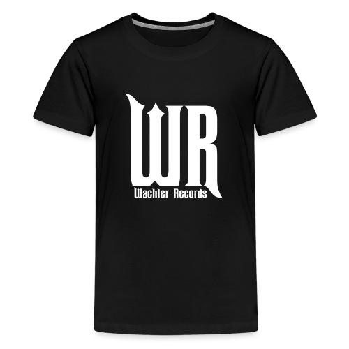 Wachler Records Light Logo - Kids' Premium T-Shirt