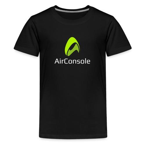New Logo AirConsole White - Kids' Premium T-Shirt