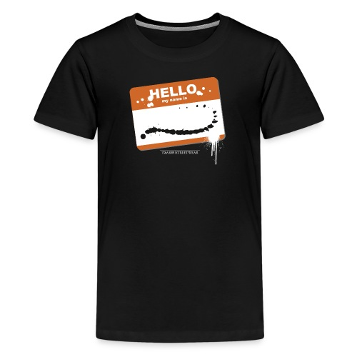 Hello my name is - Kids' Premium T-Shirt