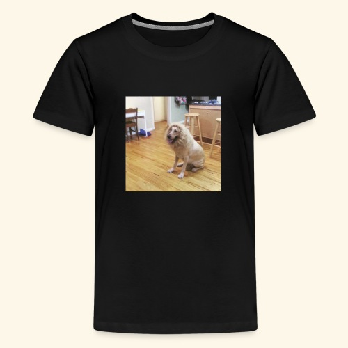 lion dog - Kids' Premium T-Shirt