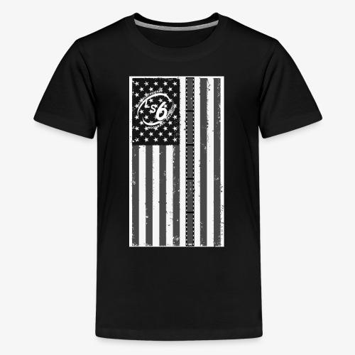 Tattered LS6 Theater Flag - Kids' Premium T-Shirt