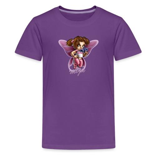 Mija Butterfly by RollinLow - Kids' Premium T-Shirt
